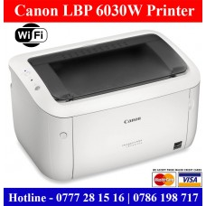 Canon LBP-6030W Laser Printer price in Sri Lanka with wifi. Wifi A4 size laser printers for sale Sri Lanka