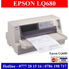 Epson LQ680 Pro Dot Matrix Printers for sale Sri Lanka