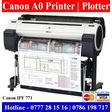 Canon A0 size printer for sale in Colombo, Sri Lank