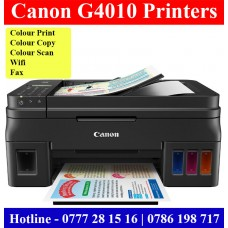 Canon PIXMA G4000 Printer Price Sri Lanka. G4000 Print, Scan, Copy, Fax for sale Sri Lanka