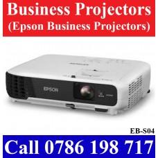 Epson EB-S04 Projectors Price Sri Lanka. Epson EB_S04 Projectors seller